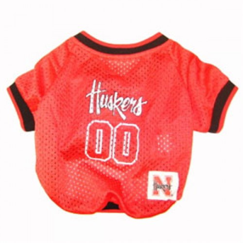 Nebraska Corn Huskers Dog Jersey