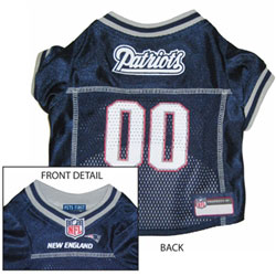 New England Patriots NFL Jersey for Dogs