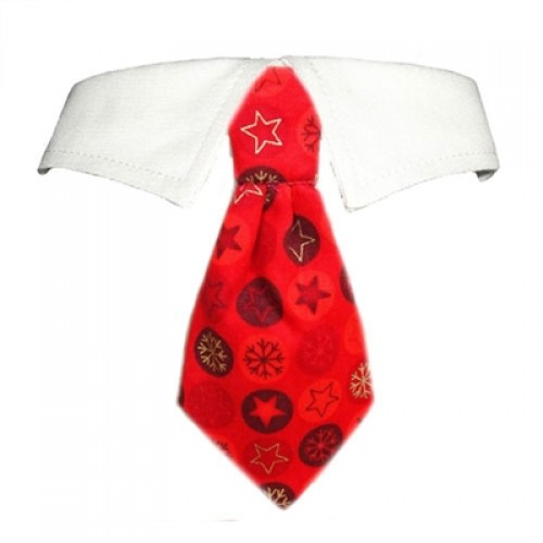 Noel Shirt Collar & Tie for Dogs
