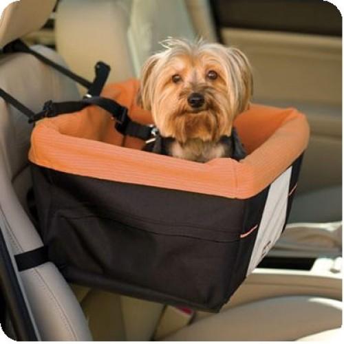 Orange Skybox Pet Booster Seat