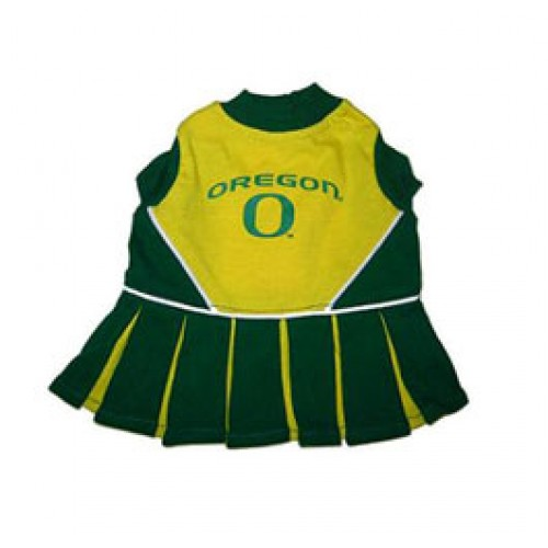 Oregon Ducks Cheer Dress for Dogs
