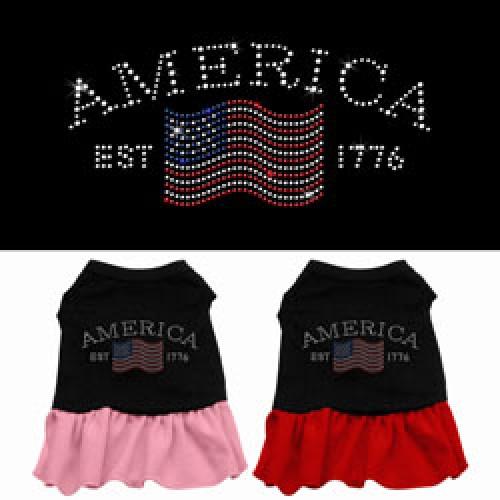 Classic American Doggy Dress