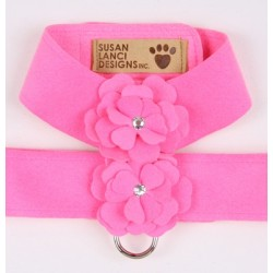 Perfect Pink Tinkies Garden Series Harness by Susan Lanci Designs