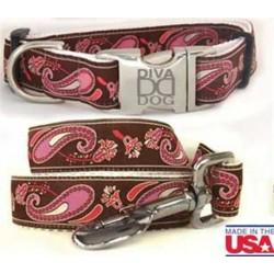 Pink & Chocolate Boho Paisley Collection - All Metal Buckles