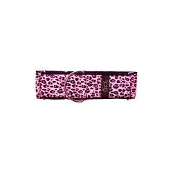 Pink Leopard Martingale Collars