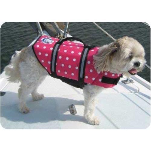 Pink Polka Dot Designer Life Jacket