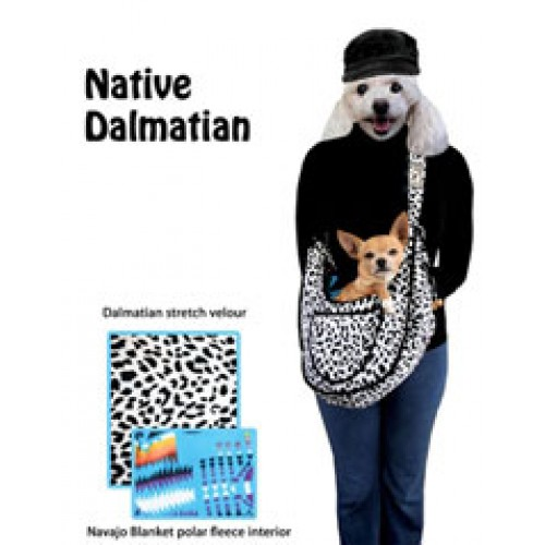 Puppy Sling Pouch - Native Dalmatian