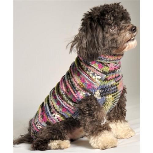 Purple WoodStock Sweater