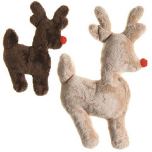 Ruff-N-Tuff Reindeer Holiday Dog Toy