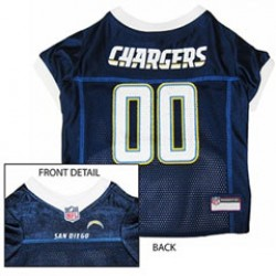 San Diego Chargers NFL Jersey for Dogs