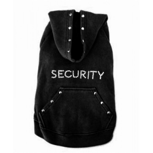 Black Security Dog Sweatshirt