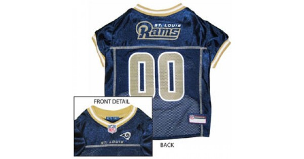 4c6aceeef95 St Louis Rams NFL Jersey for Dogs