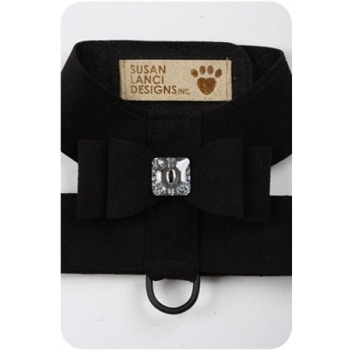 Black Big Bow Harness by Susan Lanci Designs