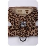 Cheetah Big Bow Harness by Susan Lanci Designs