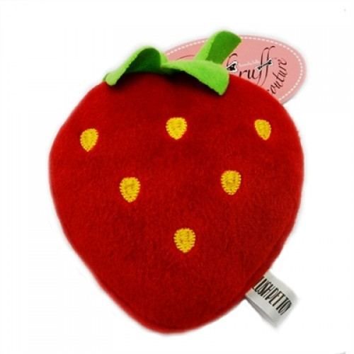 Sweet Strawberry by Ruff Ruff Couture - Plush Toy For Dogs