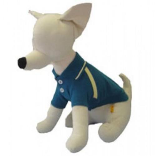 Teal Polo Dog Shirt