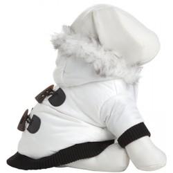 Winter White Designer Parka for Dogs