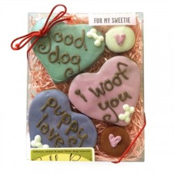 Valentine For My Sweetie Dog Treats