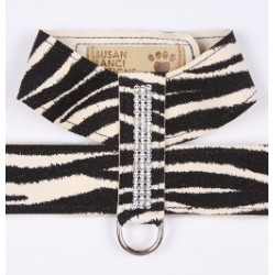 Zebra Giltmore Crystal Harness by Susan Lanci Designs