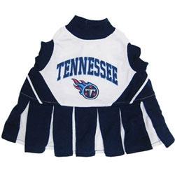 Tennessee Titans Cheerleader Dog Dress