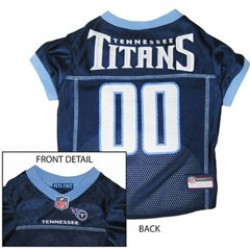 Tennessee Titans NFL Jersey for Dogs