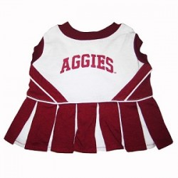 Texas A&M Aggies Cheerleading Dog Dress