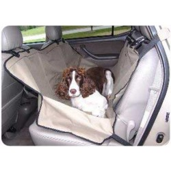 The Back Seat Dog Hammock™ - Khaki
