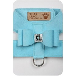 Tiffi Blue Big Bow Harness by Susan Lanci Designs