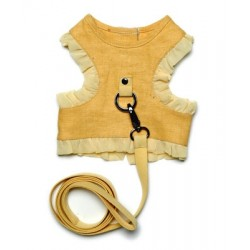 Tru-Linen Harness with Leash