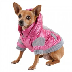 Vintage Aspen Fashion Parka for Dogs