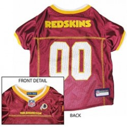 Washington Redskins NFL Jersey for Dogs