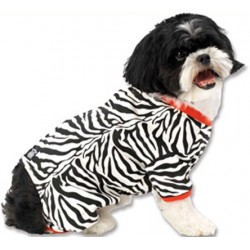 Zebra Buzz Pajamas for Dogs